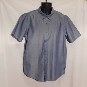 Oakley Men's Button Down Short Sleeve Shirt
